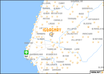 map of Igdagmay