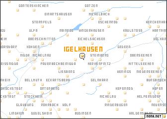 map of Igelhausen