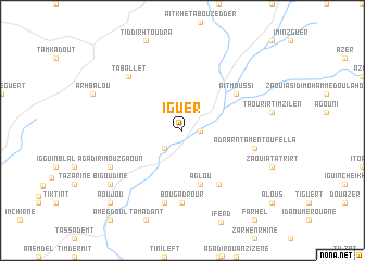 map of Iguer