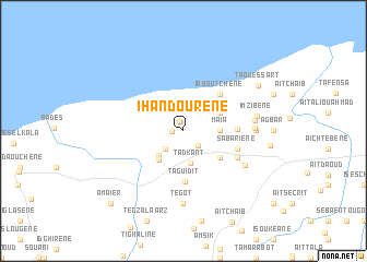 map of Ihandourene