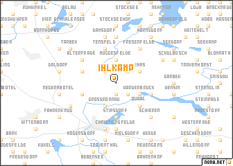map of Ihlkamp