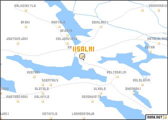 Iisalmi Finland map nonanet