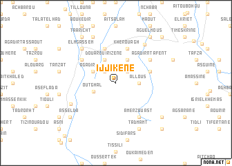 map of Ijjikene