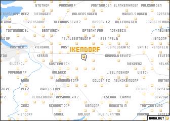 map of Ikendorf