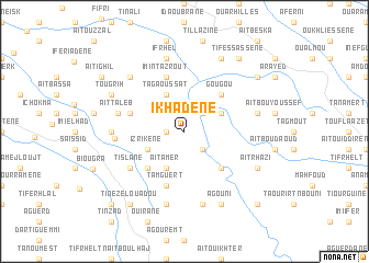 map of Ikhadene