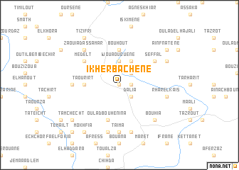 map of Ikherbachene
