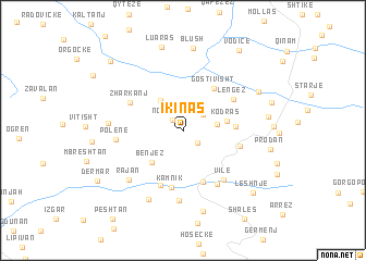 map of (( Ikinas ))