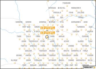 map of Ikpukum