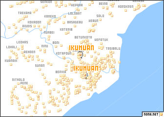 map of Ikumuan