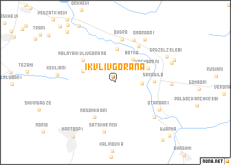 map of Ikvlivgorana
