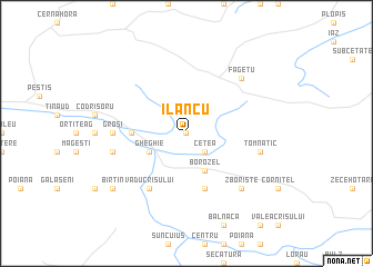 map of Ilancu
