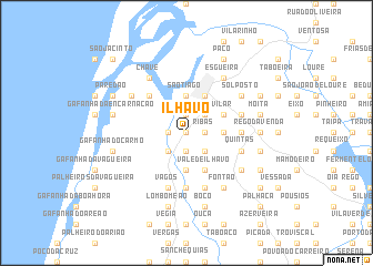 map of Ílhavo