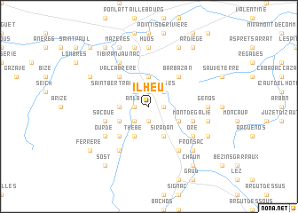 map of Ilheu