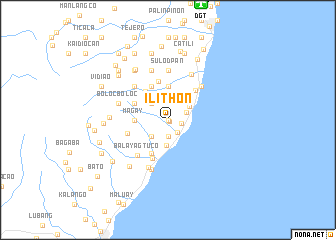 map of Ilithon