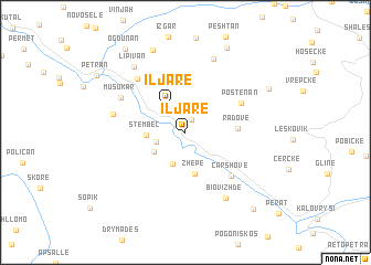 map of Iljarë