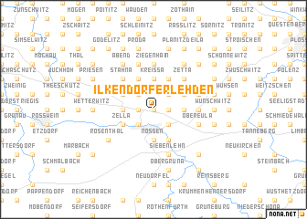 map of Ilkendorfer Lehden