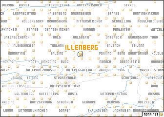 map of Illenberg