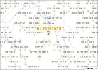 map of Illerrieden