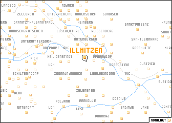 map of Illmitzen