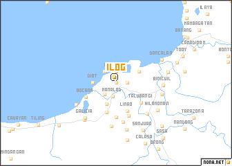map of Ilog