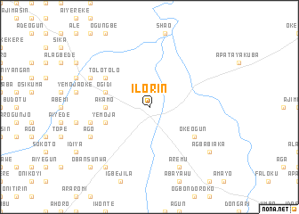Ilorin Nigeria map nonanet