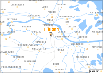 map of Il Piano