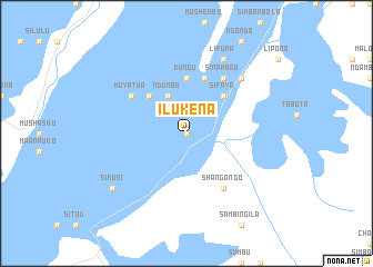 map of Ilukena