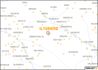 map of Il\