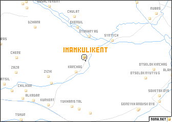 map of (( Imam-Kuli-Kent ))