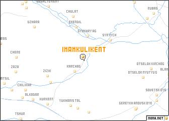 map of (( Imam-Kuli-Kent ))