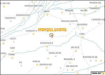 map of Imamqulukǝnd