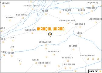 map of Imamqulukǝnd