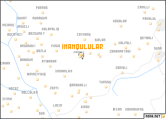 map of İmamqulular