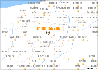 map of Imarnissene