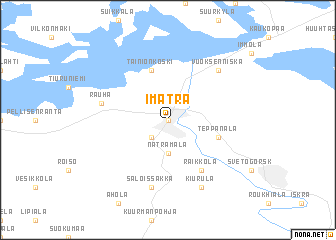 Imatra Finland map nonanet