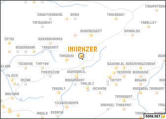 map of Imi Irhzer