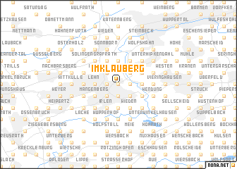 map of Im Klauberg