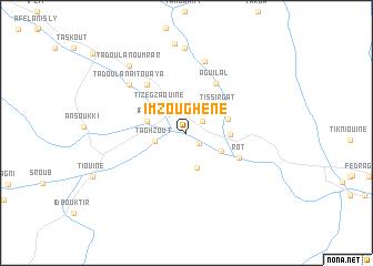 map of Imzoughene
