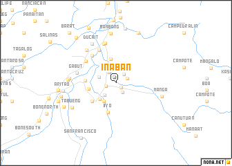 map of Inaban