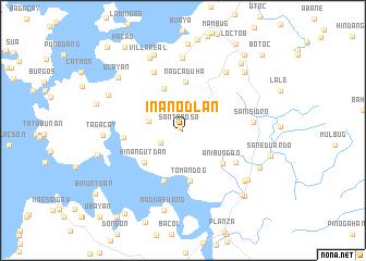 map of Inanodlan