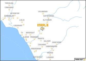 map of Inapla