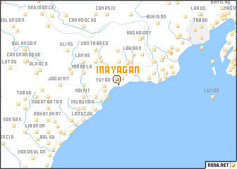 map of Inayagan