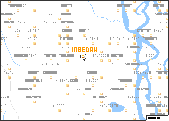 map of Inbèdaw