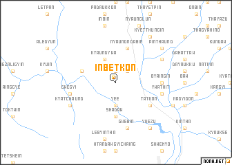 map of Inbetkon