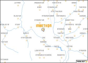 map of Inbetkon