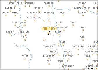 map of Inbingyi
