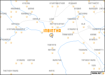 map of Inbintha