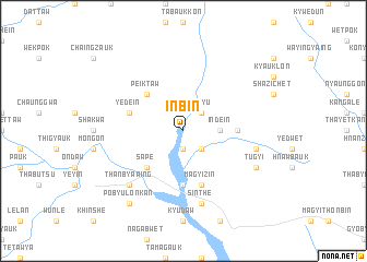 map of Inbin
