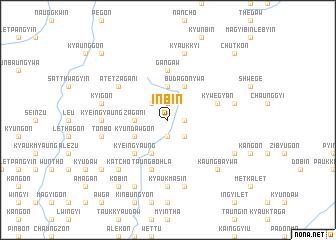 map of In-bin
