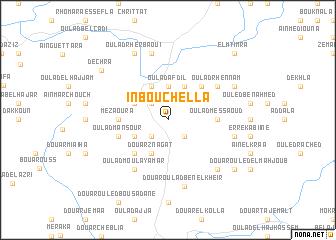 map of ïn Bou Chella